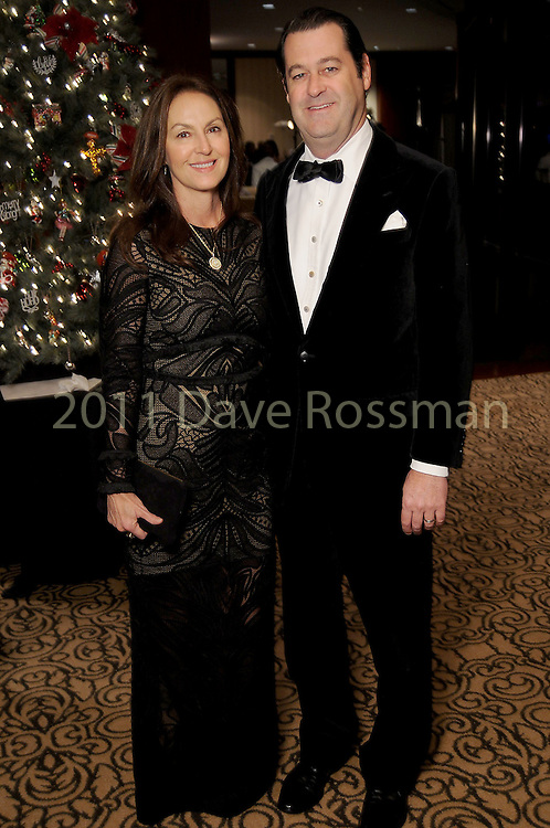 Julie and Tony Sanchez at the Trees for Hope Gala at the Omni Hotel Friday Nov.13, 2015.(Dave Rossman photo)