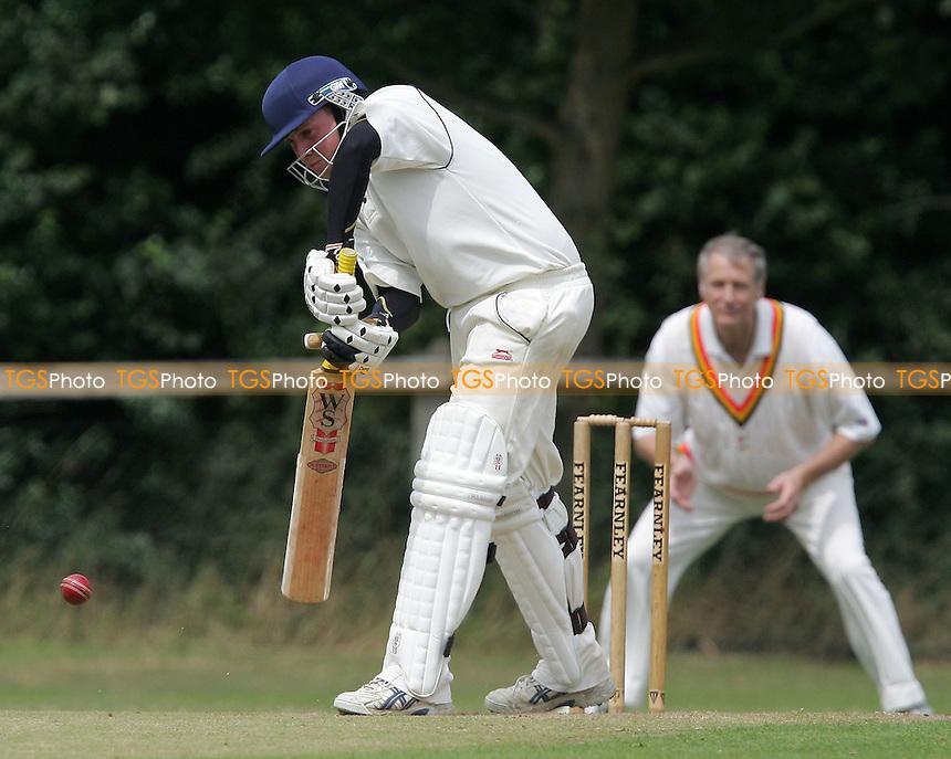 A Lazenby in batting action for Havering - Havering-atte-Bower CC vs Pegasus & Corringham CC 2nd XI  - Mid-Essex Cricket League - 28/07/07 - MANDATORY CREDIT: Gavin Ellis/TGSPHOTO - SELF-BILLING APPLIES WHERE APPROPRIATE. NO UNPAID USE. TEL: 0845 094 6026..