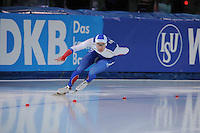 SPEED SKATING: STAVANGER: Sørmarka Arena, 31-01-2016, ISU World Cup, 1000m Men Division A, Aleksey Yesin (RUS), ©photo Martin de Jong