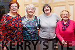 Enjoying the Sliabh Luachra Active Retirement Tea Dance afternoon in the River Island Hotel, Castleisland on Sunday last, L-r, Sheila Ahern (Currow), Norrie McGlynn (Currow), Bridie Reidy (Castleisland) and Annie Lane (Brosna).