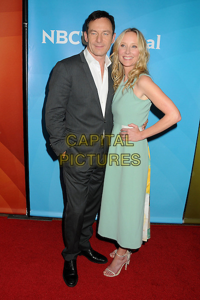 14 July 2014 - Beverly Hills, California - Jason Isaacs, Anne Heche. NBC Universal Press Tour Summer 2014 held at the Beverly Hilton Hotel. <br /> CAP/ADM/BP<br /> &copy;Byron Purvis/AdMedia/Capital Pictures