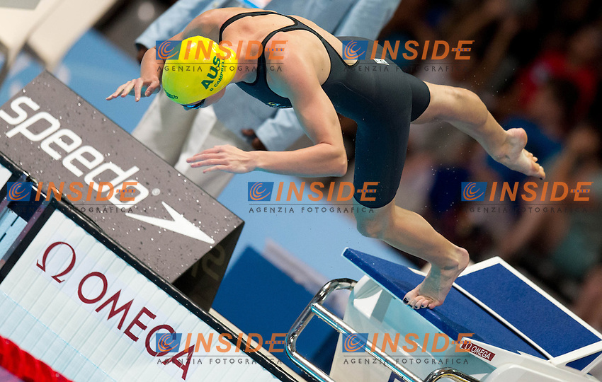 Cate Campbell, Australia AUS<br /> 100 freestyle women<br /> 15th FINA World Aquatics Championships<br /> Day-15 swimming finals<br /> Barcelona 19 July - 4 August 2013<br /> Photo G.Scala/Insidefoto/Deepbluemedia.eu