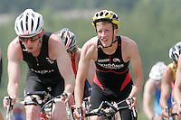 09 JUN 2007 - TREDEGAR, UK - Ritchie Nicholls - National Elite Triathlon Championships and Corus Elite Triathlon Series Rd 2. (PHOTO (C) NIGEL FARROW)