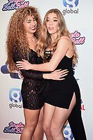 Ella Eyre and Becky Hill<br /> at the 2019 Jingle Bell Ball, O2 Arena, London.<br /> <br /> ©Ash Knotek  D3544 08/12/2019