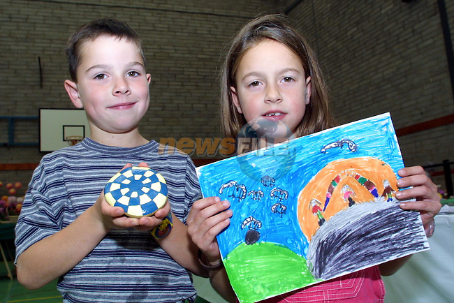 Ian and Jane Callaghan, Stamullen pictured at the Gardening and Horticultural show in Greenhills College..Pic Newsfile