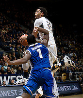 Allen Crabbe of California in action during the game against Creighton at Haas Pavilion in Berkeley, California on December 15th, 2012.   Creighton defeated California, 74-64.