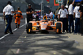 Verizon IndyCar Series<br /> Indianapolis 500 Practice<br /> Indianapolis Motor Speedway, Indianapolis, IN USA<br /> Wednesday 17 May 2017<br /> Fernando Alonso, McLaren-Honda-Andretti Honda<br /> World Copyright: Scott R LePage<br /> LAT Images<br /> ref: Digital Image lepage-170517-indy-7003