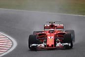 6th October 2017, Suzuka Circuit, Suzuka, Japan; Japanese Formula One Grand Prix, Friday Free Practice; Kimi Raikkonen - Scuderia Ferrari