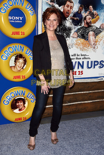 CAROLINE MANZO .The screening of 'Grown Ups' at the Ziegfeld Theatre in New York City, NY, USA, 23rd June 2010..arrivals full length black jacket gold beige top jeans .CAP/ADM/PZ.©Paul Zimmerman/AdMedia/Capital Pictures.