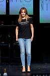Ana Escribano attends to 'Muerte en el Nilo' theatre play presentation at Ayala Theatre in Madrid, Spain. September 13, 2018. (ALTERPHOTOS/A. Perez Meca)
