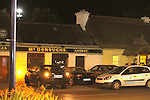 The scene of where Brian O'Reilly was shot three times on saturday evening before 11 pm at McDonoughs pub in Bettystown Co Meath.<br /> ..Photo NEWSFILE/Jenny Matthews.(Photo credit should read Jenny Matthews/NEWSFILE)....This Picture has been sent you under the condtions enclosed by:.Newsfile Ltd..The Studio,.Millmount Abbey,.Drogheda,.Co Meath..Ireland..Tel: +353(0)41-9871240.Fax: +353(0)41-9871260.GSM: +353(0)86-2500958.email: pictures@newsfile.ie.www.newsfile.ie.FTP: 193.120.102.198.