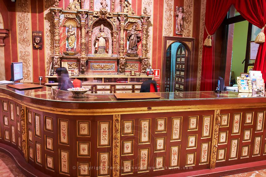 hotel el convento reception , Coreses spain castile and leon
