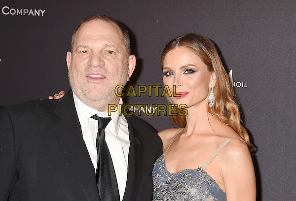 BEVERLY HILLS, CA - JANUARY 08: Producer Harvey Weinstein (L) and designer Georgina Chapman attend The Weinstein Company and Netflix Golden Globe Party, presented with FIJI Water, Grey Goose Vodka, Lindt Chocolate, and Moroccan Oil at The Beverly Hilton Hotel on January 8, 2017 in Los Angeles, California<br /> CAP/ROT/TM<br /> &copy;TM/ROT/Capital Pictures