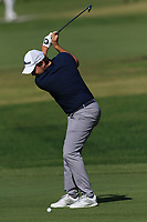 Lars Van Meijel (NED) on the 5th fairway during Round 1 of the Challenge Tour Grand Final 2019 at Club de Golf Alcanada, Port d'Alcúdia, Mallorca, Spain on Thursday 7th November 2019.<br /> Picture:  Thos Caffrey / Golffile<br /> <br /> All photo usage must carry mandatory copyright credit (© Golffile | Thos Caffrey)