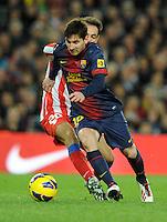 Lionel Messi ( FC Barcelone ) .Football Calcio 2012/2013.La Liga Spagna.Foto Panoramic / Insidefoto .ITALY ONLY