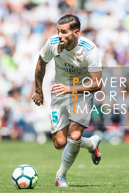 Theo Bernard Francois Hernandez Pi of Real Madrid in action during the La Liga match between Real Madrid and Levante UD at the Estadio Santiago Bernabeu on 09 September 2017 in Madrid, Spain. Photo by Diego Gonzalez / Power Sport Images