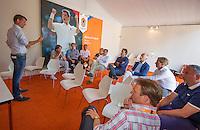 Den Bosch, Netherlands, 09 June, 2016, Tennis, Ricoh Open, KNLTB meeting in Richard Krajicek room<br /> Photo: Henk Koster/tennisimages.com