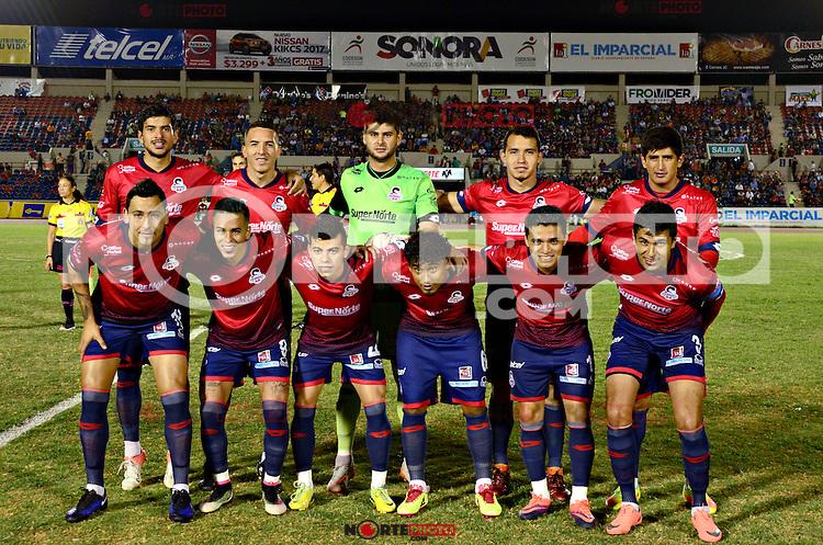 Partido de futbol soccer entre Cimarrones de Sonora vs Potros .Torneo Clausura de la Liga Ascenso 2017 10Feb2017<br /> &copy;Foto: JSandoval/NortePhoto.com