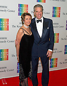 United States House Minority Leader Nancy Pelosi (Democrat of California) and her husband, Paul, arrive for the formal Artist's Dinner honoring the recipients of the 2013 Kennedy Center Honors hosted by United States Secretary of State John F. Kerry at the U.S. Department of State in Washington, D.C. on Saturday, December 7, 2013. The 2013 honorees are: opera singer Martina Arroyo; pianist,  keyboardist, bandleader and composer Herbie Hancock; pianist, singer and songwriter Billy Joel; actress Shirley MacLaine; and musician and songwriter Carlos Santana.<br /> Credit: Ron Sachs / CNP