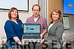 Web Site Launch : Pictured at the launch the Listowel  Family Resource Centre's web site at the centre on Friday morning last were Jackie Landers, Manage LFRC, Sean Slattery web designer & Angerlia Elbell, Chairperson LFRC.