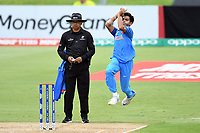 India's Kamlesh Nagarkoti into his delivery stride during the ICC U-19 Cricket World Cup 2018 Finals between India v Australia, Bay Oval, Tauranga, Saturday 03rd February 2018. Copyright Photo: Raghavan Venugopal / © www.Photosport.nz 2018 © SWpix.com (t/a Photography Hub Ltd)