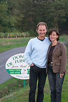 Jean Paul and Monique Paquet owner domaine fussiacus macon burgundy france