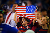 Philadelphia, PA - Wednesday July 19, 2017: USA supporters during a 2017 Gold Cup match between the men's national teams of the United States (USA) and El Salvador (SLV) at Lincoln Financial Field.