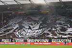 10.03.2019,  GER; 2. FBL, FC St. Pauli vs Hamburger SV ,DFL REGULATIONS PROHIBIT ANY USE OF PHOTOGRAPHS AS IMAGE SEQUENCES AND/OR QUASI-VIDEO, im Bild Feature Choreografie der Pauli Fans vor Spielbeginn Foto © nordphoto / Witke