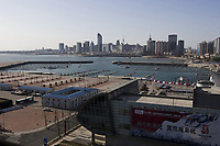 Qingdao Olympic Sailing Center, the venue for the Sailing. Olympic Venues<br /> Olimpiadi Pechino 2008. Impianto Giochi Olimpici<br /> Foto Cspa/Insidefoto