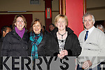 Mary Murphy Kilcummin, Joan Vaughan Knocknagree, Eileen and Michael kennedy Farranfore at the DJ Curtin/Brendan Bowyer 50th anniversary concert in the INEC on Sunday night.