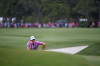Alex Noren (SWE) lines up his putt onto the green on 9 during round 4 of The Players Championship, TPC Sawgrass, at Ponte Vedra, Florida, USA. 5/13/2018.<br /> Picture: Golffile | Ken Murray<br /> <br /> <br /> All photo usage must carry mandatory copyright credit (&copy; Golffile | Ken Murray)