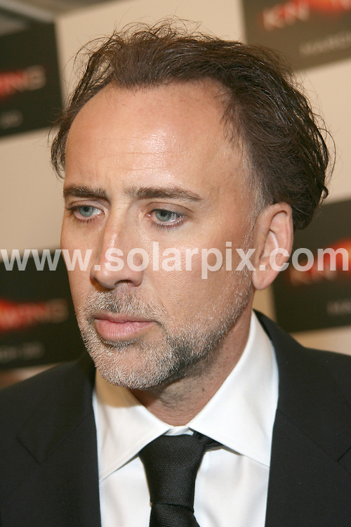 "**ALL ROUND PICTURES FROM SOLARPIX.COM**.**SYNDICATION RIGHTS FOR UK, AUSTRALIA, DENMARK, PORTUGAL, S. AFRICA, SPAIN & DUBAI (U.A.E) ONLY**.""Knowing"" New York Premiere, held at AMC Loews Lincoln Square, New York City, NY, USA. 9 March 2009..This pic: Nicolas Cage..JOB REF: 8619 PHZ (Gaboury)   DATE: 09_03_2009.**MUST CREDIT SOLARPIX.COM OR DOUBLE FEE WILL BE CHARGED**.**ONLINE USAGE FEE GBP 50.00 PER PICTURE - NOTIFICATION OF USAGE TO PHOTO @ SOLARPIX.COM**.**CALL SOLARPIX : +34 952 811 768 or LOW RATE FROM UK 0844 617 7637**"