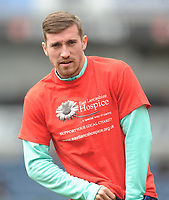 Blackburn Rovers' Joe Rothwell during the pre-match warm-up <br /> <br /> Photographer Kevin Barnes/CameraSport<br /> <br /> The EFL Sky Bet Championship - Blackburn Rovers v Swansea City - Sunday 5th May 2019 - Ewood Park - Blackburn<br /> <br /> World Copyright © 2019 CameraSport. All rights reserved. 43 Linden Ave. Countesthorpe. Leicester. England. LE8 5PG - Tel: +44 (0) 116 277 4147 - admin@camerasport.com - www.camerasport.com