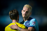 Max Muller of Wycombe Wanderers at full time during the Friendly match between Wycombe Wanderers and AFC Wimbledon at Adams Park, High Wycombe, England on 25 July 2017. Photo by Andy Rowland.