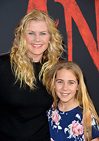 """LOS ANGELES, CA: 09, 2020: Alison Sweeney & Megan Sanov at the world premiere of Disney's """"Mulan"""" at the El Capitan Theatre.<br /> Picture: Paul Smith/Featureflash"""