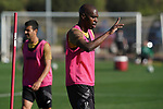 Getafe's Allan Nyom during training session. May 19,2020.(ALTERPHOTOS/Acero)