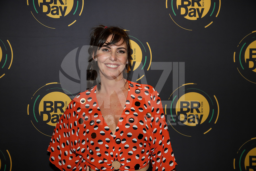 NOVA YORK, EUA, 31.08.2019 - BRAZILIAN-DAY - Glenda Koslowski durante coletiva de imprensa do BR Day Brazilian Day em Nova York neste sabado, 31. (Foto: Vanessa Carvalho/Brazil Photo Press)