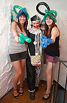 Ajonieszka Mazurek and Liliana Putel with Lula the Clown at the St Trinian's Fancy Dress Night in Shooters..Photo NEWSFILE/Jenny Matthews.(Photo credit should read Jenny Matthews/NEWSFILE)....This Picture has been sent you under the condtions enclosed by:.Newsfile Ltd..The Studio,.Millmount Abbey,.Drogheda,.Co Meath..Ireland..Tel: +353(0)41-9871240.Fax: +353(0)41-9871260.GSM: +353(0)86-2500958.email: pictures@newsfile.ie.www.newsfile.ie.FTP: 193.120.102.198.