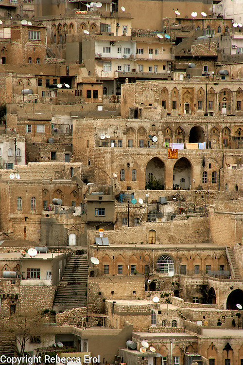 MARDIN AN ARAB STYLE TOWN IN SOUTH EASTERN TURKEY