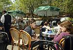 FRANCE / PARIS 25 April 2002--Paris cafes, close to Saint Michele..PHOTO: JUHA ROININEN.