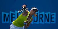 Serbine Lisicki (GER) (21) against Alberta Brianti (ITA) in the Second Round of the Womens Singles. Brianti beat Lisicki 2-6 6-4 6-4 ..International Tennis - Australian Open Tennis - Thur 21 Jan 2010 - Melbourne Park - Melbourne - Australia ..© Frey - AMN Images, 1st Floor, Barry House, 20-22 Worple Road, London, SW19 4DH.Tel - +44 20 8947 0100.mfrey@advantagemedianet.com