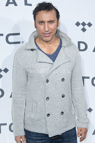BROOKLYN, NY - OCTOBER 20: Aasif Mandvi on arrivals for TIDALx1020 Concert at Barclays Center in Brooklyn, NY on October 20, 2015. Credit: Abel Fermin/MediaPunch