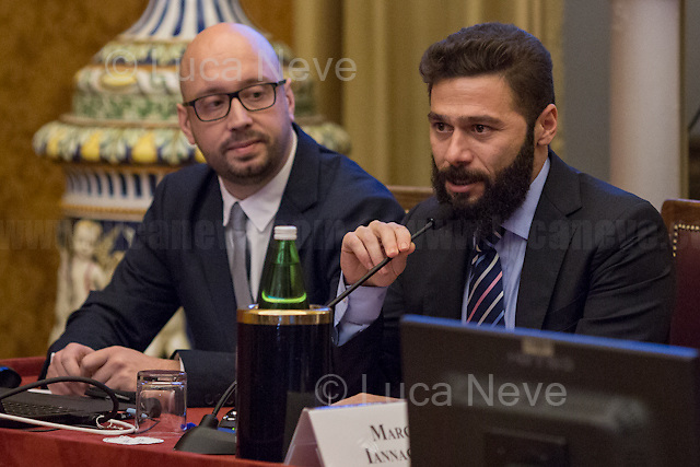 (From L to R) Luca di Francesco &amp; Diego Ierna (Job4Good).<br />