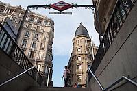 Madrid, Metro Gran Via