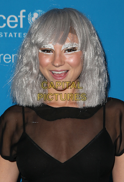 LOS ANGELES, CA - OCTOBER 27: Allie Gonino at the Fourth Annual UNICEF Masquerade Ball Los Angeles at Clifton's Cafeteria in Los Angeles, California on October 27, 2016. <br /> CAP/MPI/FS<br /> &copy;FS/MPI/Capital Pictures