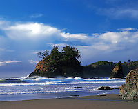 Scenic view of Trinidad State Beach. California.