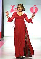 NEW YORK, NY February 08, 2018:Ginger Zee attend  American Heart Association's® Go Red For Women® Red Dress Collection® 2018 at Hammerstein Ballroom in New York. February 08, 2018. Credit:RW/MediaPunch