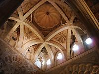 Inside Great Mosque - Cordoba, Spain