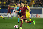 Stephan El Shaarawy of AS Roma runs with the ball during the match Villarreal CF vs AS Roma during their UEFA Europa League 2016-17 Round of 32 match at the Estadio de la Cerámica on 16 February 2017 in Villarreal, Spain. Photo by Maria Jose Segovia Carmona / Power Sport Images