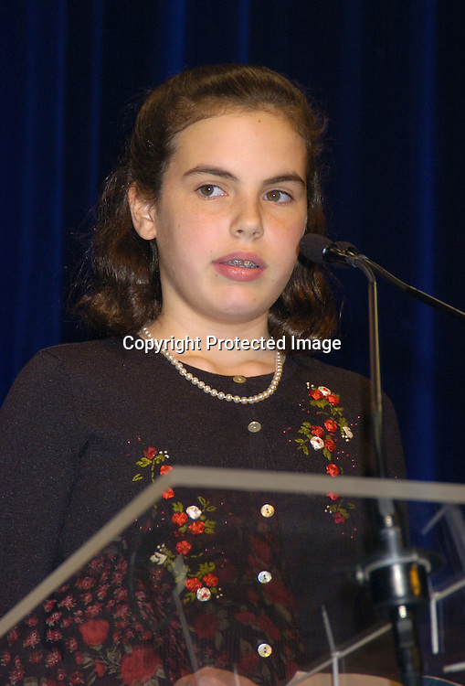 Abby Boyle ..at the National Book Awards on November 17, 2004 at The Marriott Marquis. Photo by Robin Platzer, Twin Images